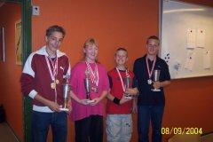 KM Ungdom 50 meter 2004